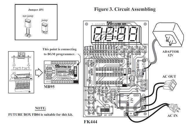 digital multifuntion timer switch kit 1 sec