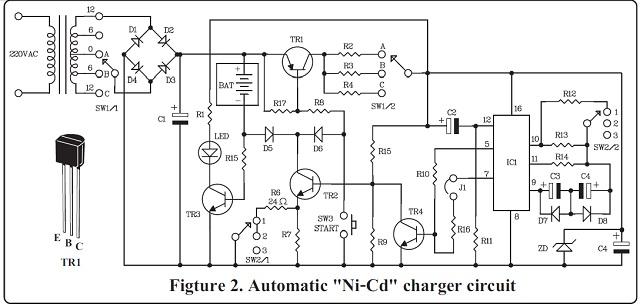 auto ni-cd charger kit  aa size 2
