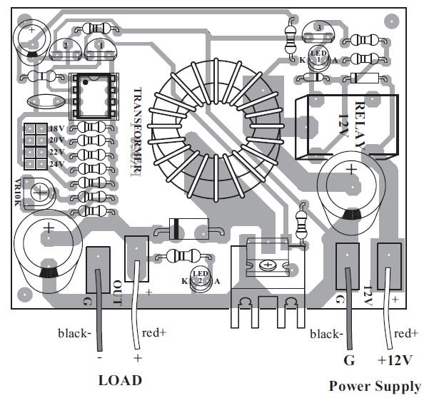 voltage booster kit 12v to 15