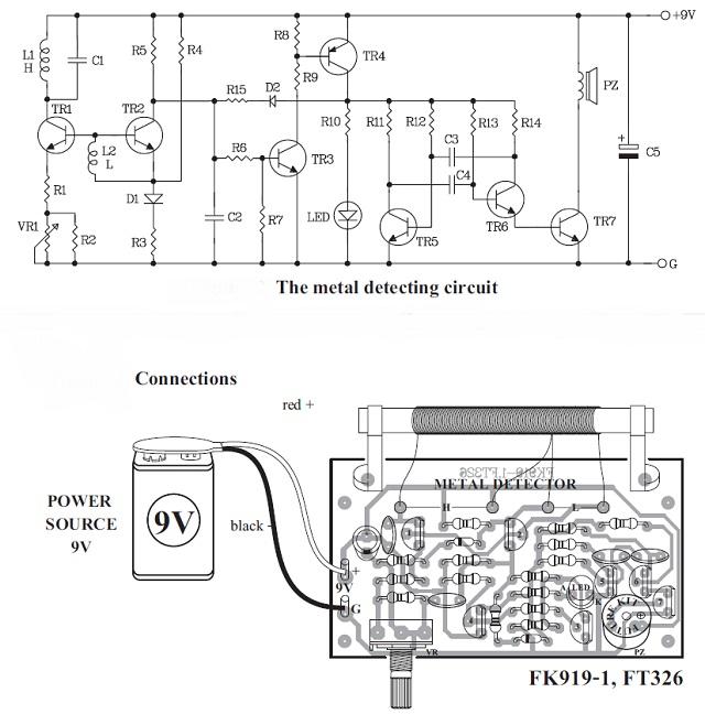metal detector kit quality electronics store kingston