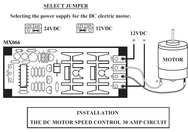 pulse width modulator dc motor speed control 30 a hydrogen boost controller  qkits electronics