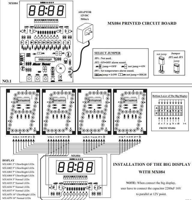 digital temperature and alarm module quality electronics store kingston ontario canada