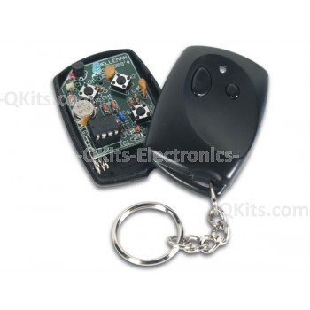 Velleman K8059 2 Channel RF Code-Lock Remote Transmitter Kit image