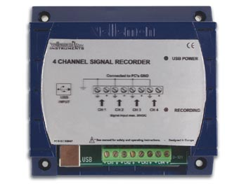 4 Channel Recorder / Logger Kit