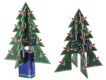 3 Dimensional Xmas Tree Kit