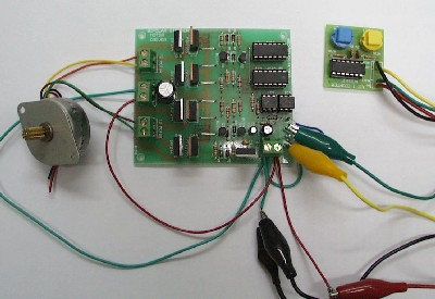 Bi Polar Stepper Motor Driver Kit Qkits Electronics Store