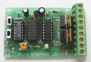 Unipolar stepper motor driver kit qkits electronics store for Unipolar and bipolar stepper motor