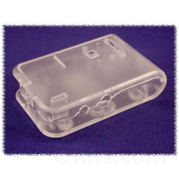 Plastic Enclosure for Raspberry Pi (CLEAR) image