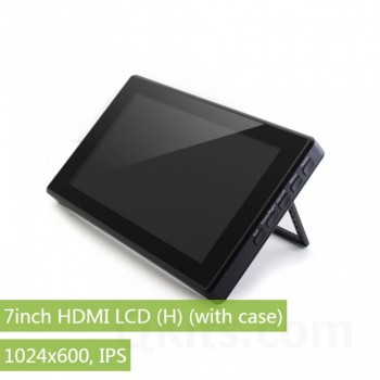1024×600, 7 inch Capacitive Touch Screen LCD, HDMI interface