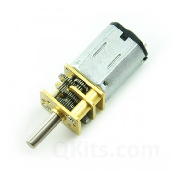 Micro Metal Gearing Motor 100:1 12 Volts