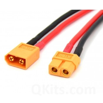 XT60 female plug and male connector
