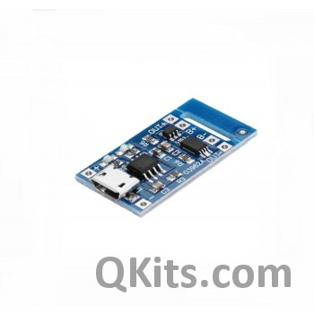 Lipo Battery Charger Micro USB TP4056