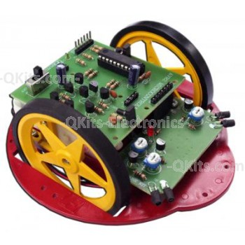 AVR2 Obstacle Avoiding Robot Kit image