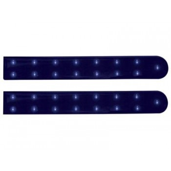 Double Self-Adhesive LED Strip - BLUE - 5 29/32 inch- 12VDC image