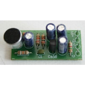 Condener Mic with Pre Amp image