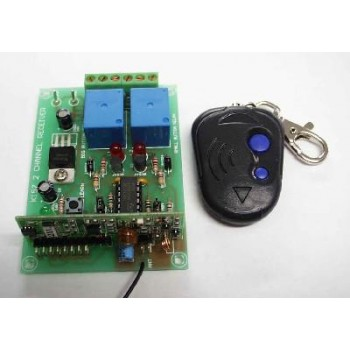 Rolling Code 2 Ch UHF Remote Control Kit image