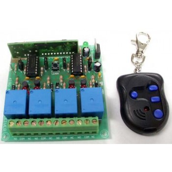 4 Channel UHF Rolling Code Lock Kit image