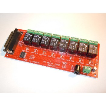 PC Relay Board 8 Channel Made in Canada