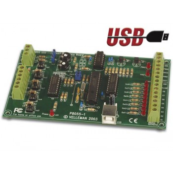 Velleman K8055 USB Experiment Interface Kit image