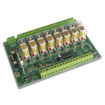 Velleman K8056 Channel Remote Relay Kit image