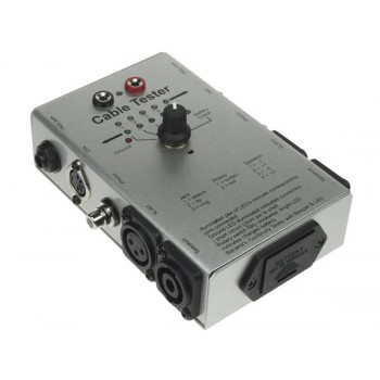 Audio Cable Tester 6 way VTTEST14 Velleman