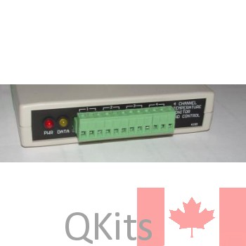 4-Channel Temperature Monitor and Control image