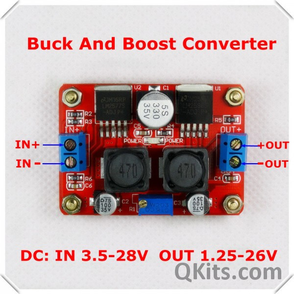 Stepup Circuit High Power Current Mode Switching Power Supply