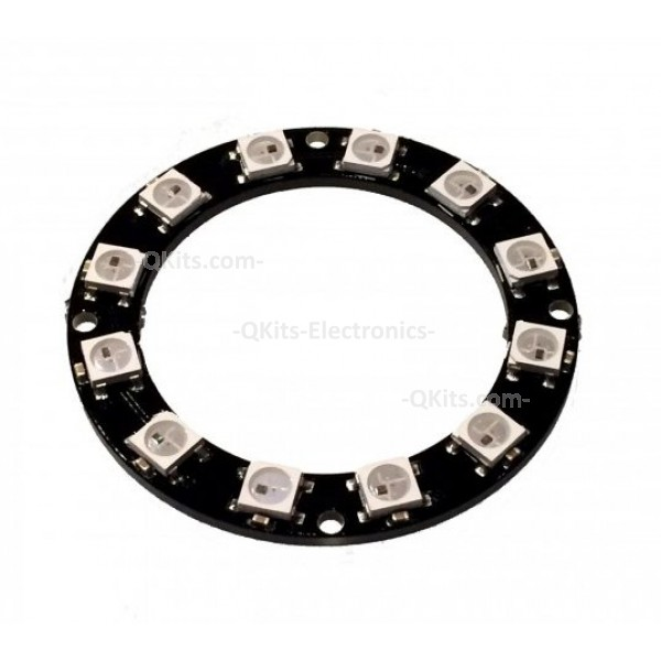 multi color led ring 12 ws2812 quality electronics store. Black Bedroom Furniture Sets. Home Design Ideas