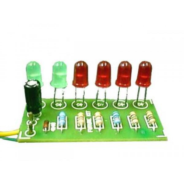 V U  Meter Kit 6 LED (Power Supply Not Required) - Radio Frequency