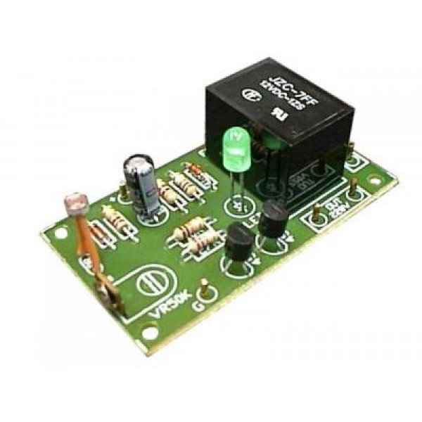 Night Activated Switch Kit (Dark - ON) FK403 QKits Electronics Store ...