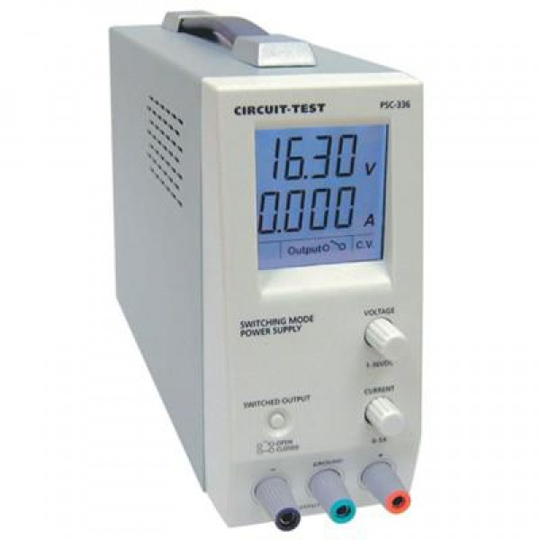 Single Output CIRCUIT-TEST Switching Power Supply 20VDC//5.0A PSC-520
