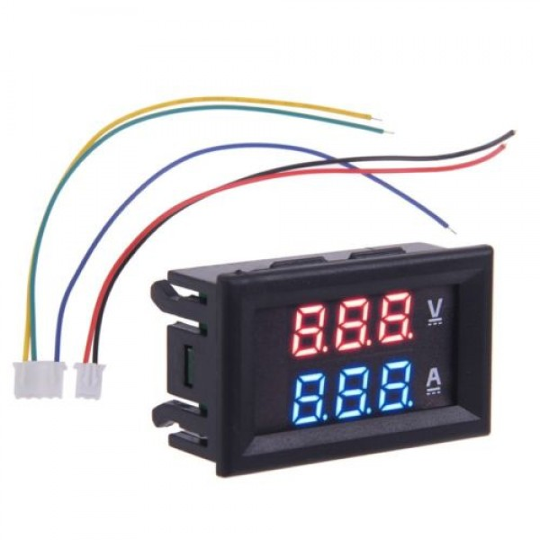 Led Volt And Amp Meter With External Shunt Qkits