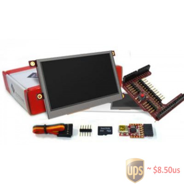 4 3 inch Display Starter Kit for Arduino® QKits Electronics