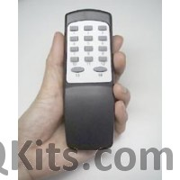 Infra Red Remote Controller & Decoder IC image