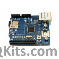 Ethernet Shield W5100 QKits