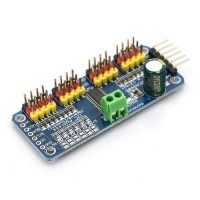 16 Channel 12 Bit PWM/Servo Driver I2C Interface PCA9685 for Rasperry Pi and Arduino