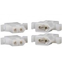 pack of 2, 2 position molex plug set