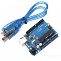 Arduino UNO Rev3 Clone with USB Cable image