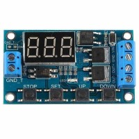 Dual timers mosfet output delay ON