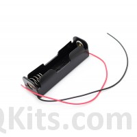 18650 Li-Po Battery Holder with Leads