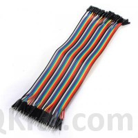 40 PIN Male to Female Jumper Cable image