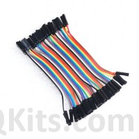 40 Pin Female to Female Jumper Cable 10 CM