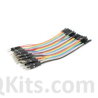 40 pin male to female jumper cable 10cm