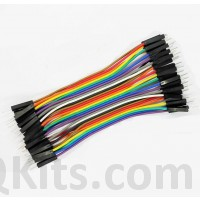 40 Pin Male to Male Jumper Cable 10CM