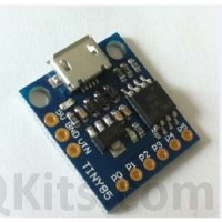 ATTINY 85 CLONE with micro USB connector. image