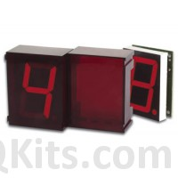 velleman k8063 2 digit serial 7 segment display