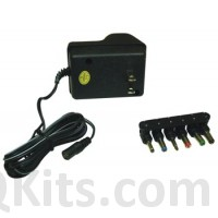 Universal NON Regulated Voltage Adaptor 300mA image