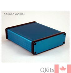 Extruded Aluminum w/ Metal End Panels BLUE