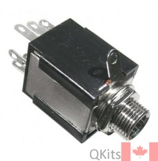 """1/4"""" Stereo Chassis Jack image"""