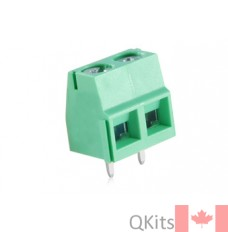 2 Pole PCB screw type connector LARGE. image
